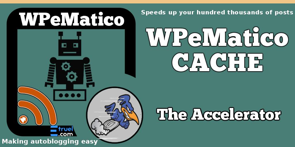 New Addon!! WPeMatico Cache